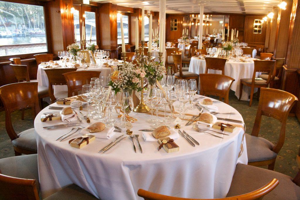 Organisation Croisière Mariage Paris – Location bateau mariage Paris