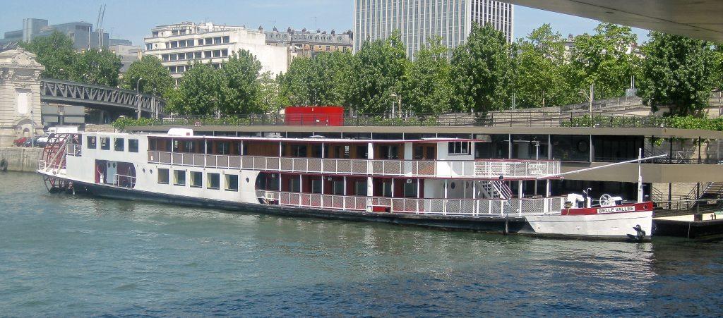 location bateau Paris Belle Vallée - Événement sur la Seine